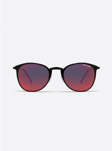 QUAY x Shay Domino Sunglasses | Black Mirrored