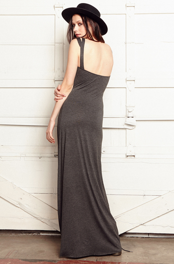 CLAYTON Sylvia Maxi Dress | Black