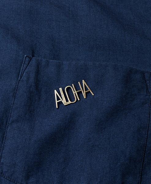 Casa Malaspina Brass Aloha Pin