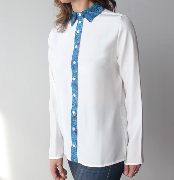 Rachel Rose Silk Blouse