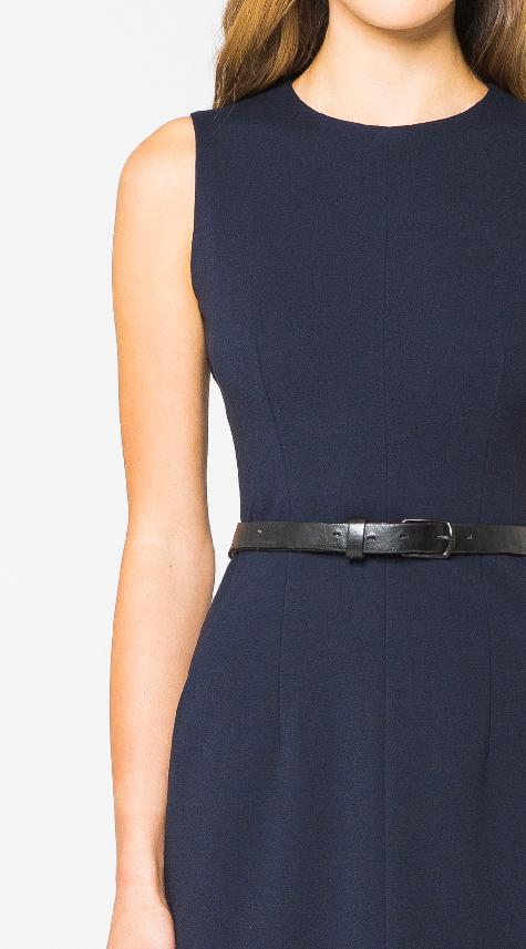 Obakki Seamed Dress with Pockets