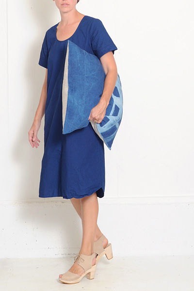 Conifer Indigo Smock Dress