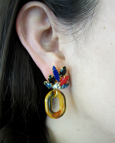Lizzie Fortunato Parakeet Earrings