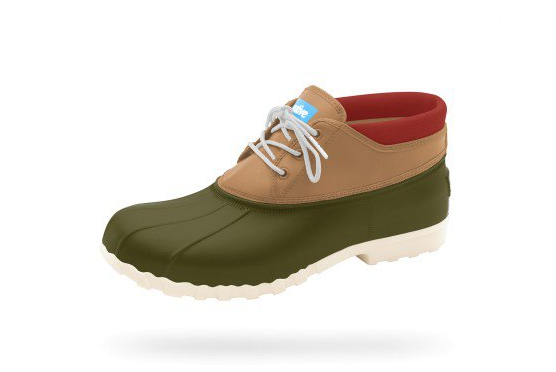 NATIVE JIMMY MID | Green/Brown
