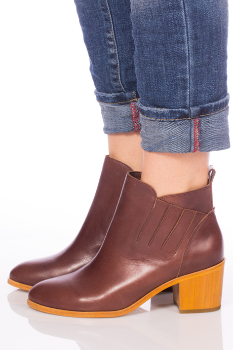 Charlotte Stone Kari Boot Brown