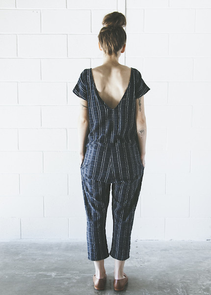 Ace & Jig Onesie in Eclipse