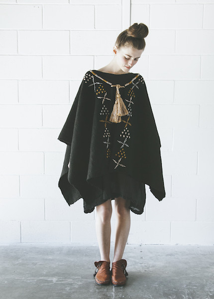 Proud Mary Tassel Cape