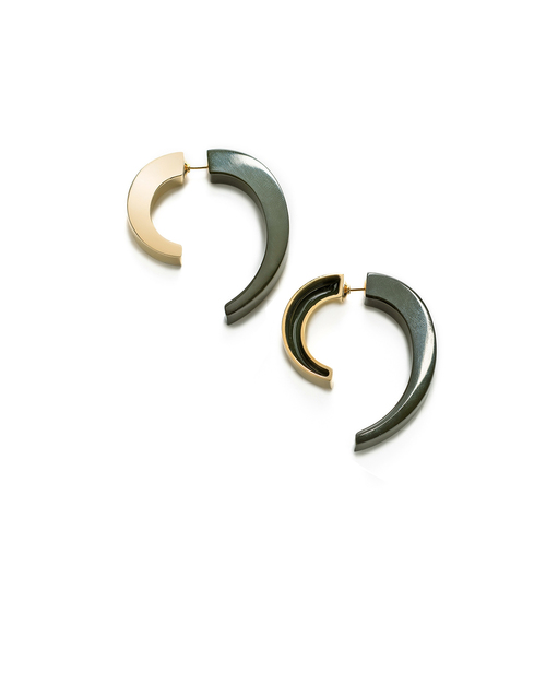 Lizzie Fortunato Sahara Earrings in Gold