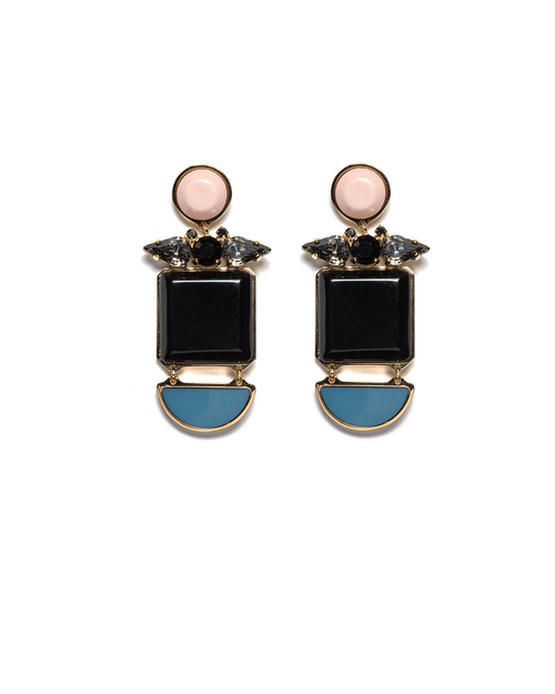 Lizzie Fortunato Blue Moon Earrings