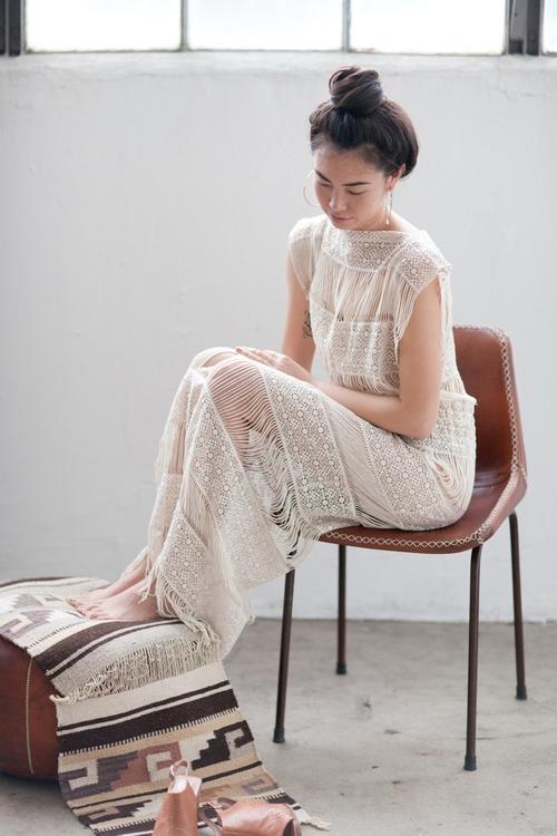 Callahan Crochet Maxi