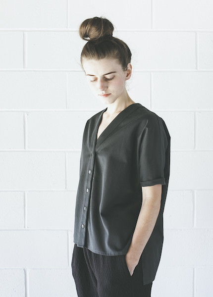 Ilana Kohn Lola Shirt | Faded Black