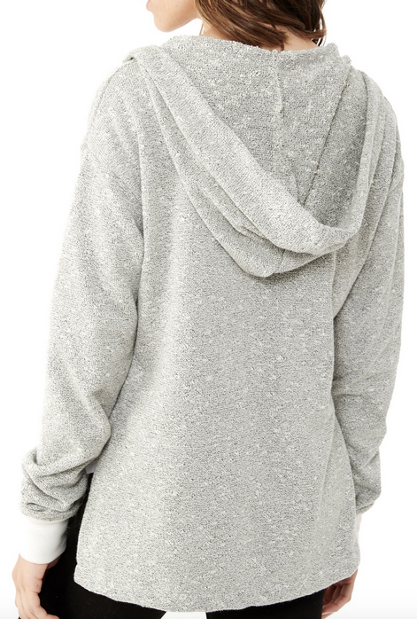 Alternative Apparel Drifter Textured Hoodie | Pepper