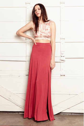 Clayton Sarah Maxi Skirt | Pop Floral