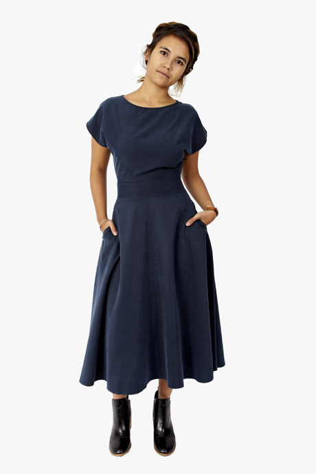 Curator Etta Dress Midnight