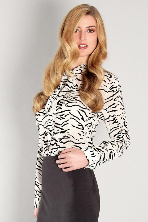 Valentine Gauthier Tiger Button-Down Shirt