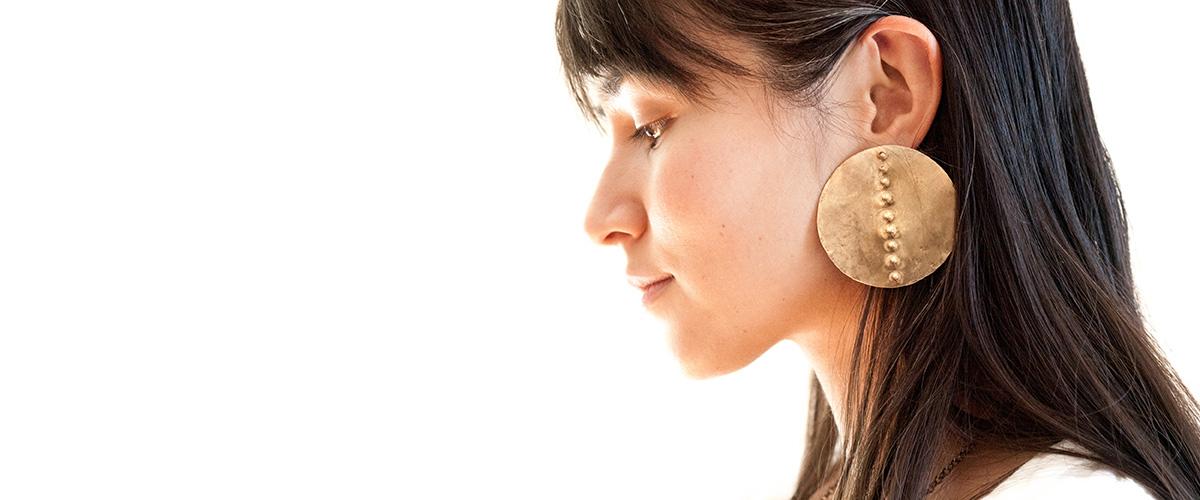 Laurel-hill-garmentory-banner-petroglyph-disc-earrings