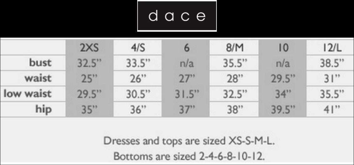 Dace-sizing