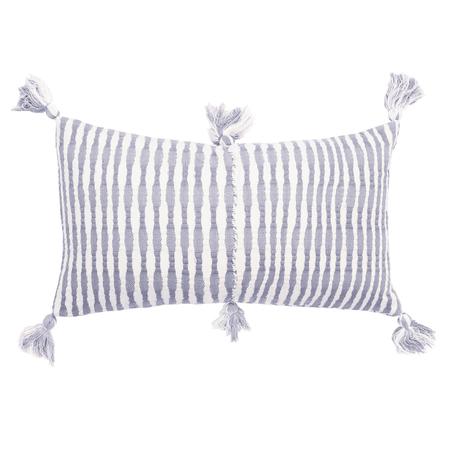 Archive New York Antigua Pillow - Cool Grey Stripe