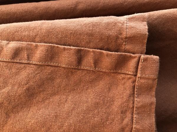 jungmaven 100 hemp canvas blanket terracotta garmentory