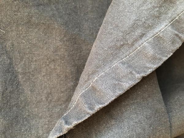 jungmaven 100 hemp canvas blanket washed black garmentory