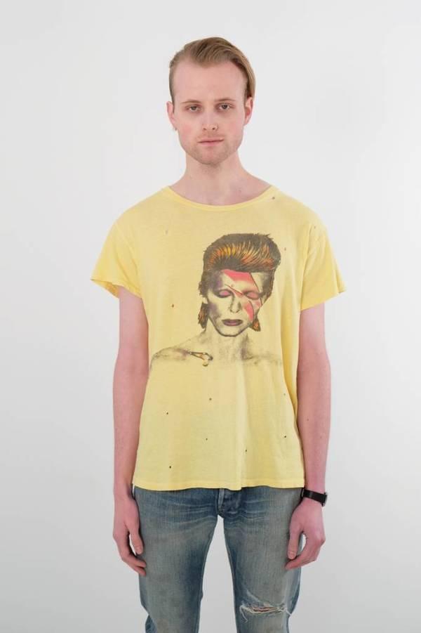 9ea825526 Madeworn David Bowie Tee | Garmentory