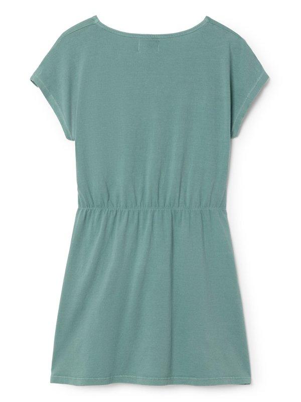 Kids Bobo Choses Little Jane Shaped Dress - Green
