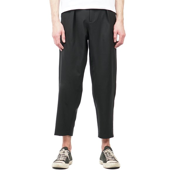 Pleated Billowed trousers - Black Second/Layer w1RS39T