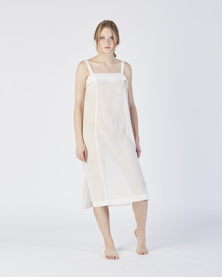 Botanica Workshop Kona slip dress in white
