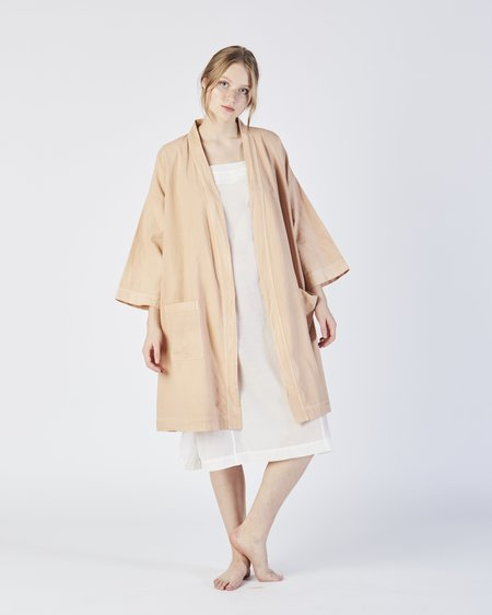Botanica Workshop Racine organic cotton robe - petal