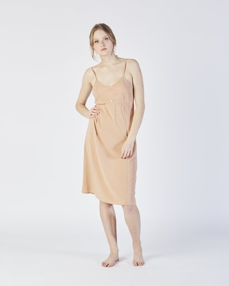 Botanica Workshop Vetiver slip dress in petal