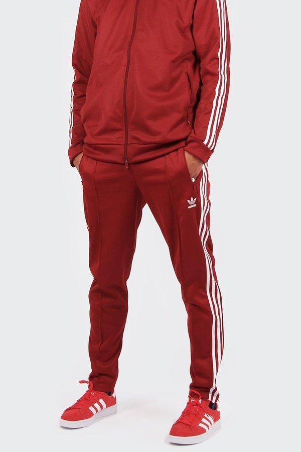 3b7e2a6c205b Adidas Originals Beckenbauer Track Pants - rust red. sold out. Adidas