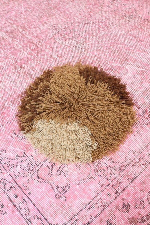 Artist Alpaca Handmade Fringe Pillow Coco