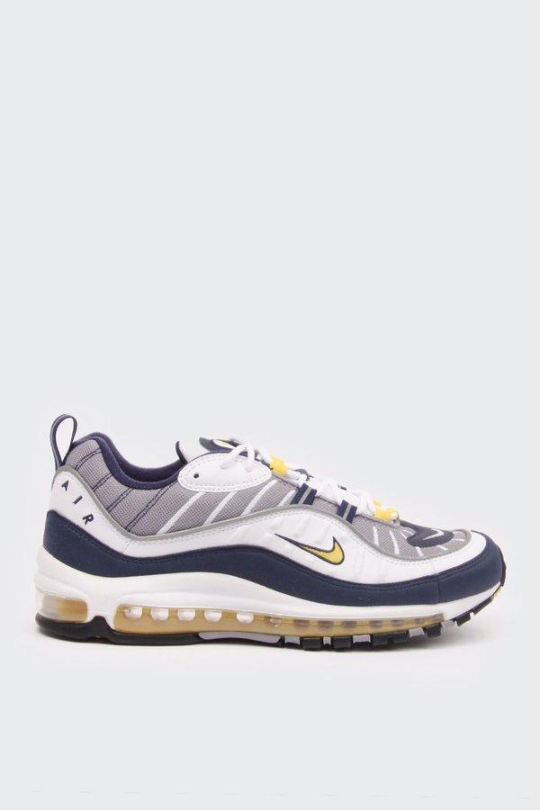 98833499fec Nike Air Max 98 - White/tour yellow/midnight navy on Garmentory