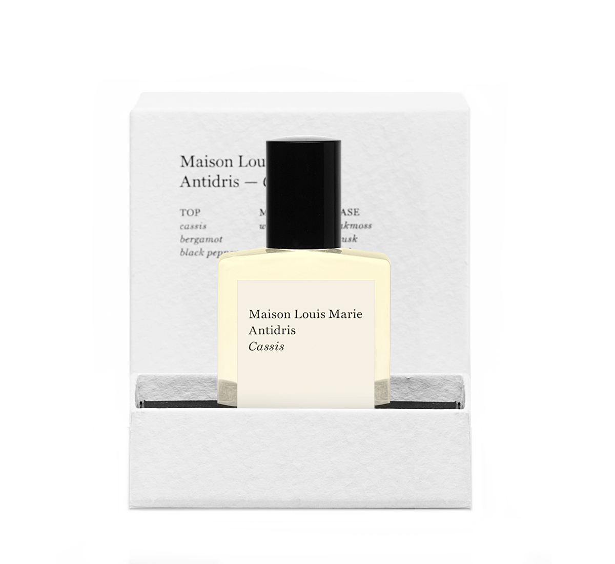 Maison Louis Marie Antidris Cassis Perfume OIl With Gift Box 0 5oz