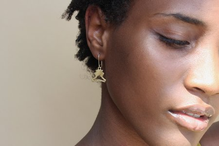BlueBeard Kiva Milagro Earring