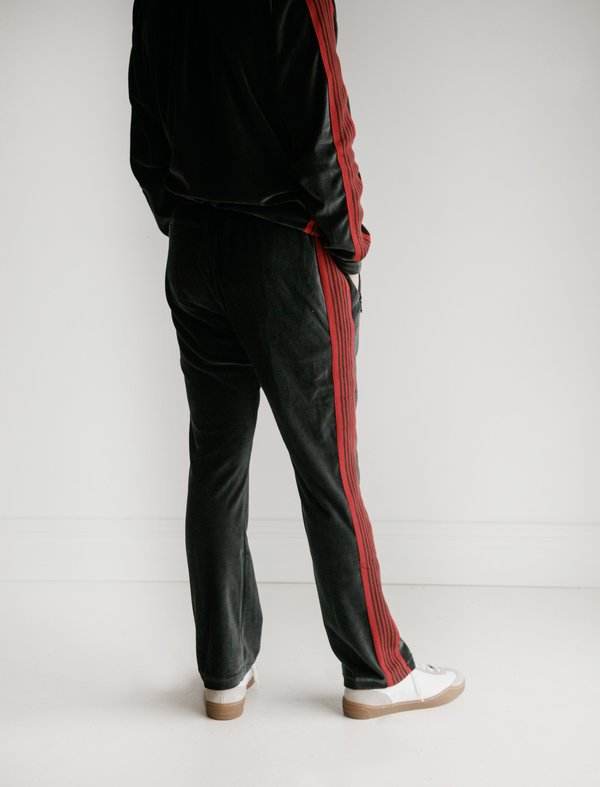 Needles Mens Narrow Track Pant - Charcoal | Garmentory