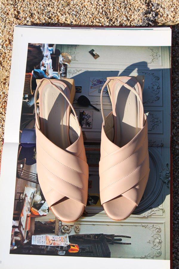 Beklina Picasso Platforms heel - Nude