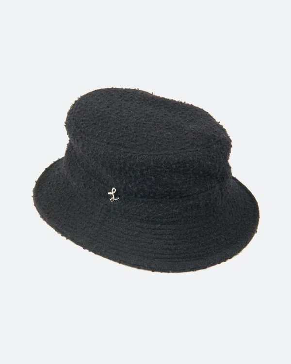 cb6d9ee8727b4 Larose Paris Pilled Wool Bucket Hat