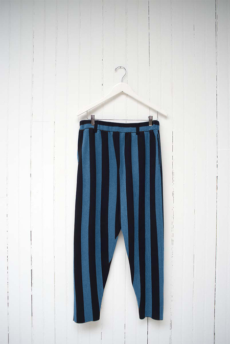 THE WIDE STRIPED KNIT PANT