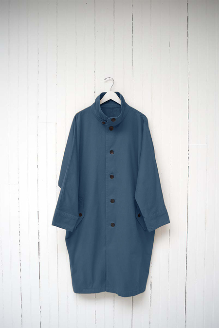 THE WASHED COTTON COAT