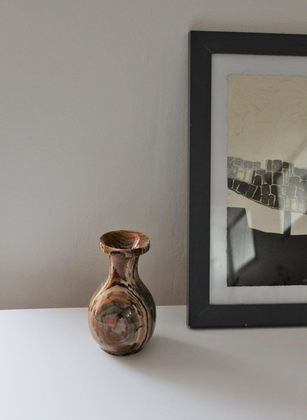 Vuela Boutique Vintage Found Collected Natural Stone Vase Garmentory
