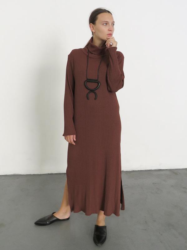 Wolcott Takemoto Palmer Dress - Clove
