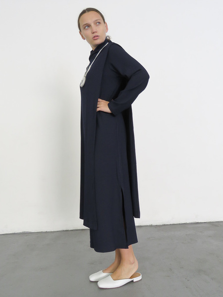 Wolcott Takemoto Wayne Dicky Dress - Navy