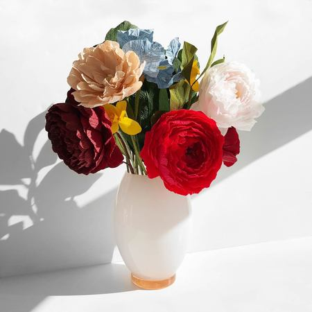 Harley Rose Studio Handmade and Naturally Dyed Floral Arrangement
