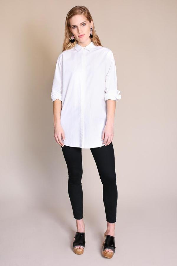 2dc65c9fa64cf MiH Jeans Oversize Shirt in White. sold out. M.i.H. Jeans
