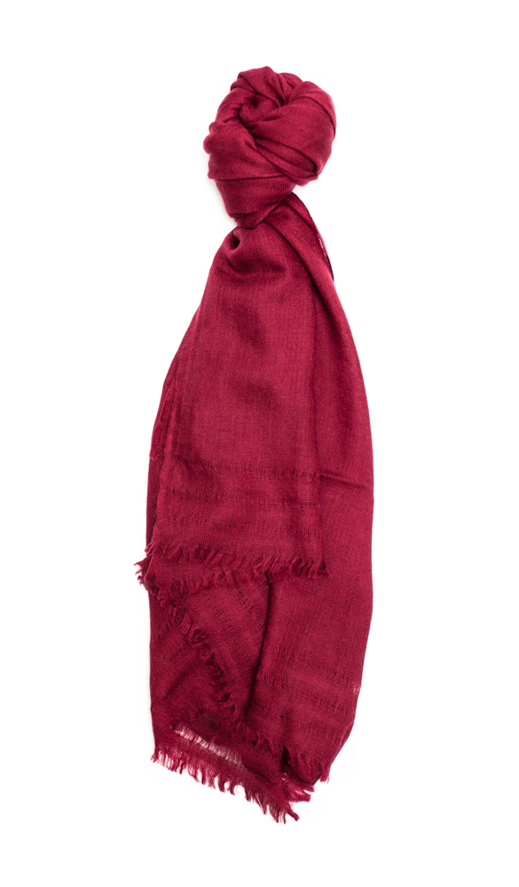 A Peace Treaty Daakos Scarf in Wine