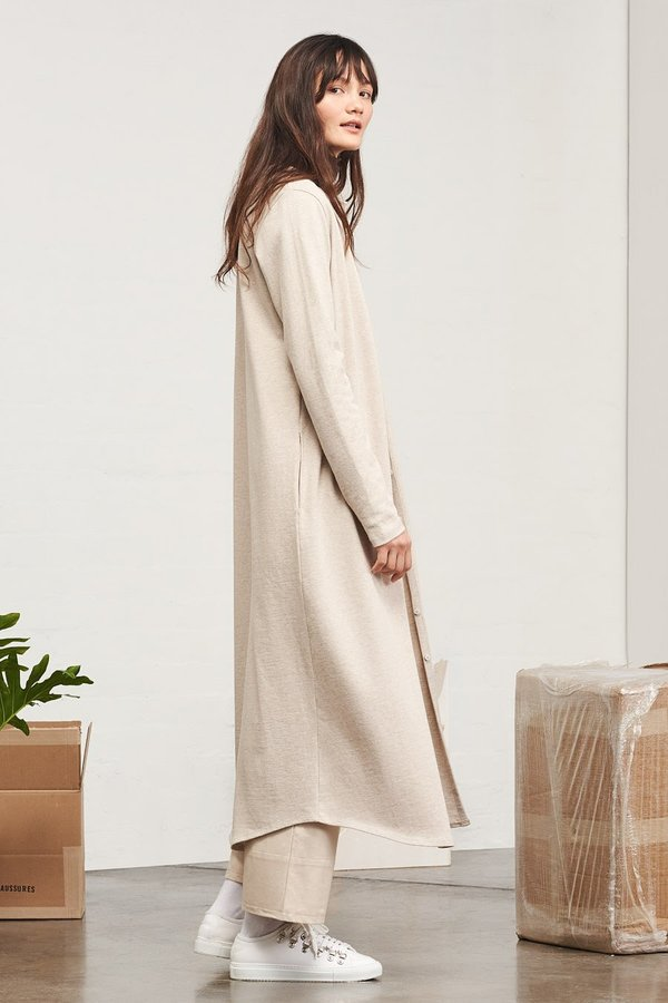 Kowtow Building Block Long Cardigan