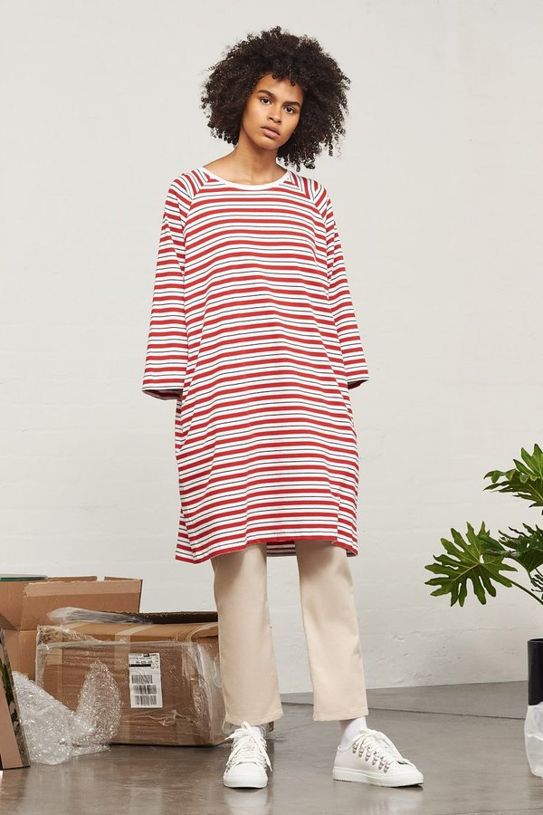 Kowtow Building Block Oversized Tee Dress