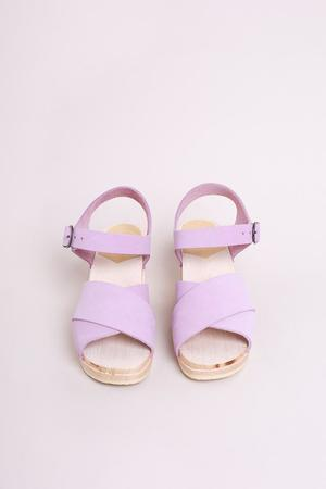 No.6 Coco Cross Front Sandal