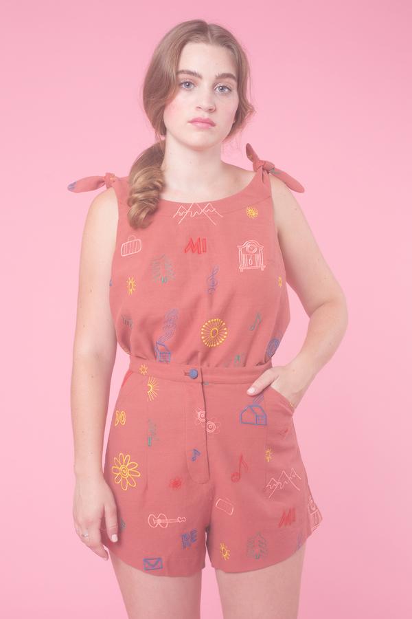 Samantha Pleet Minuet Shorts